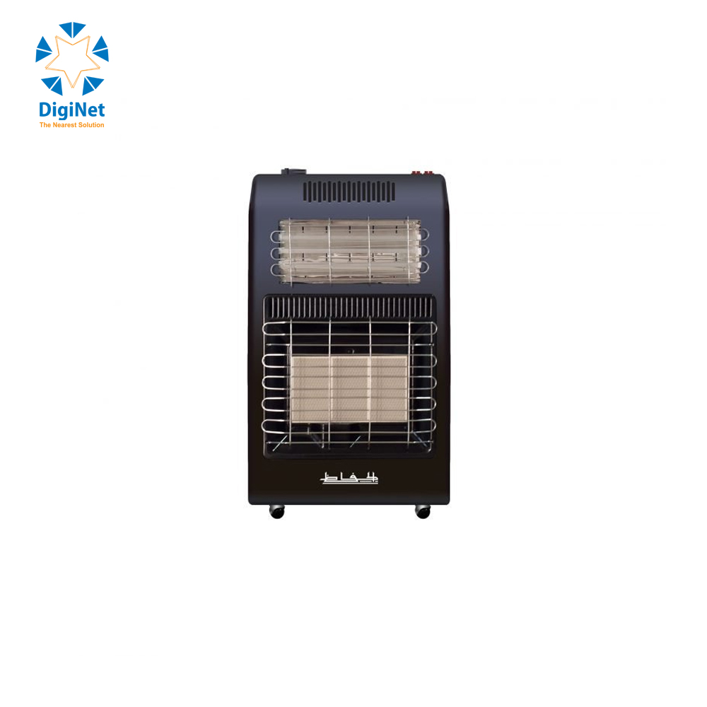 AL HAFEZ GAS AND ELECTRIC HEATER WITH TURBINE GH 417