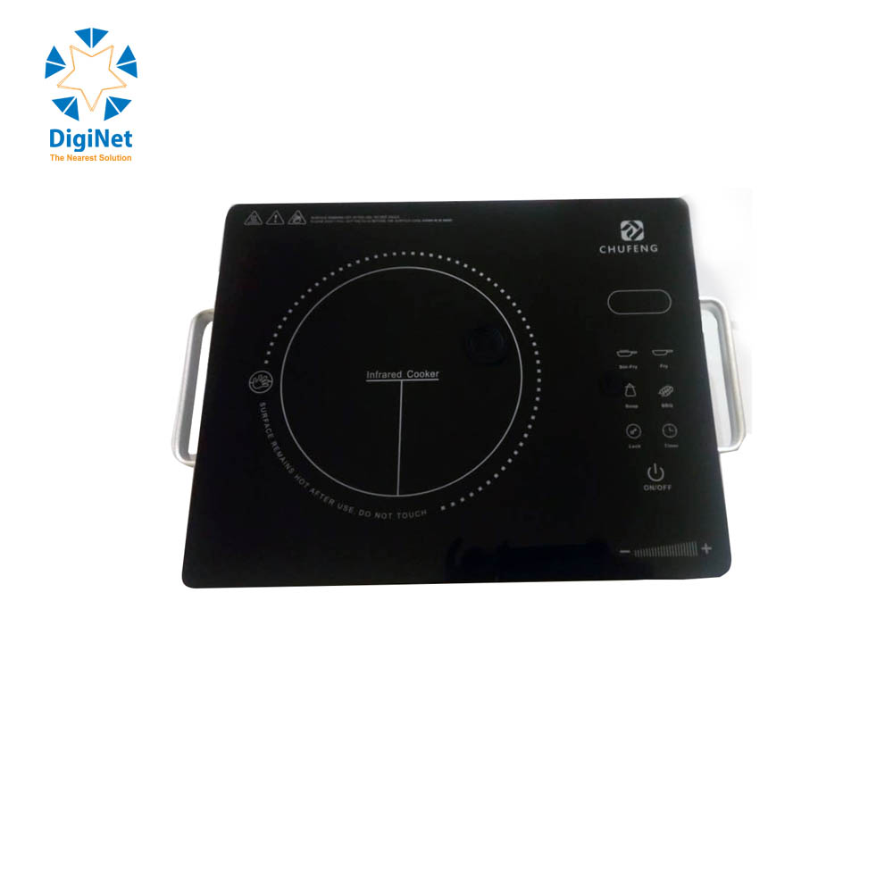 CHUFENG INFRARED COOKER 815 2000W STAINLESS STEEL TOUCH