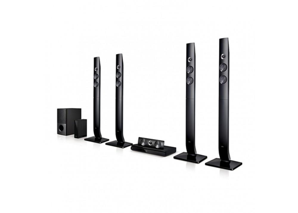 LG HOME THEATER LHD 756 1200W 5.1CH DVD BLUETOOTH BLACK