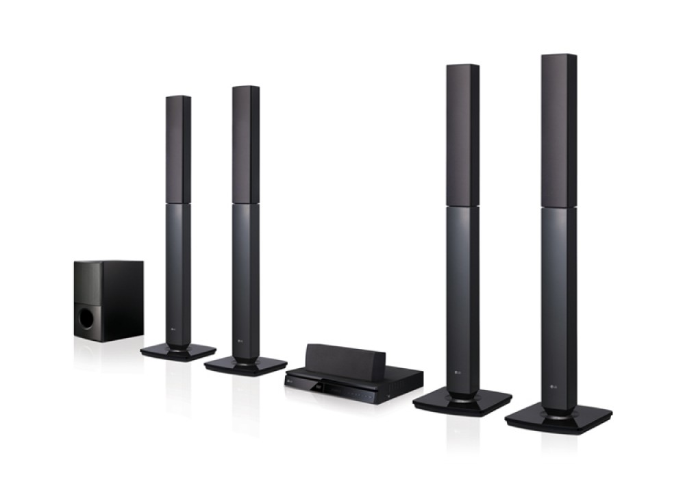 LG HOME THEATER LHD655BT 5.1 1000W WITH BLUETOOTH FULL HD