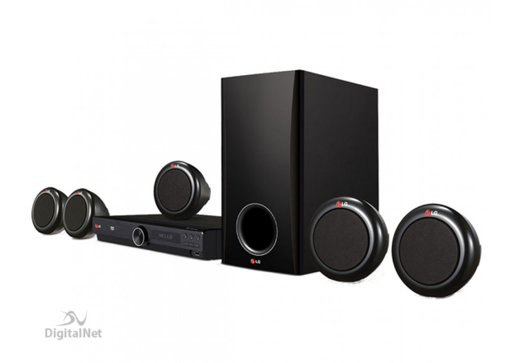 LG DVD HOME THEATRE SYSTEMS 5.1 DH-3140 300 WATTS