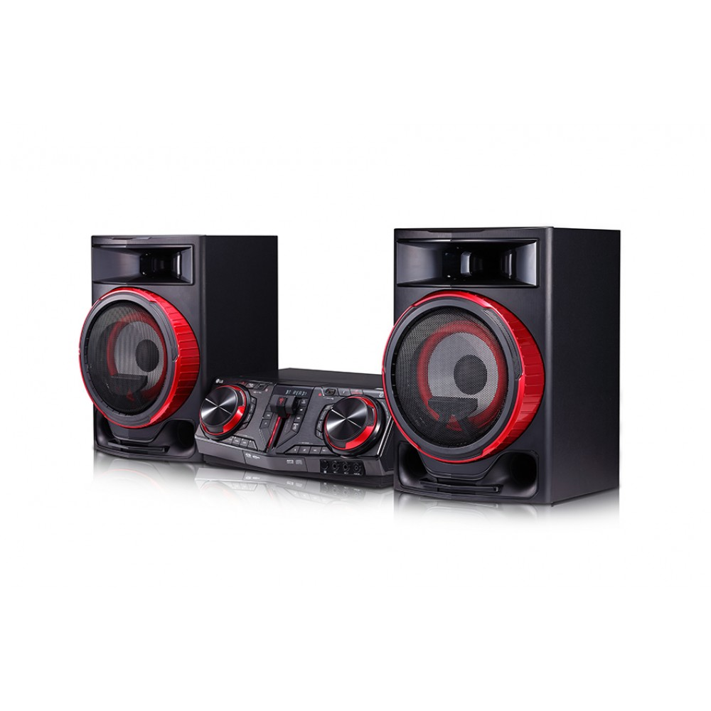 LG HOME THEATER MINI HIFI SYSTEM CJ87 2350W BLUETOOTH BLACK