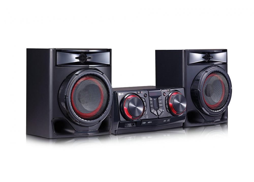 LG HOME THEATER MINI HIFI SYSTEM CJ44 480W BLUETOOTH BLACK