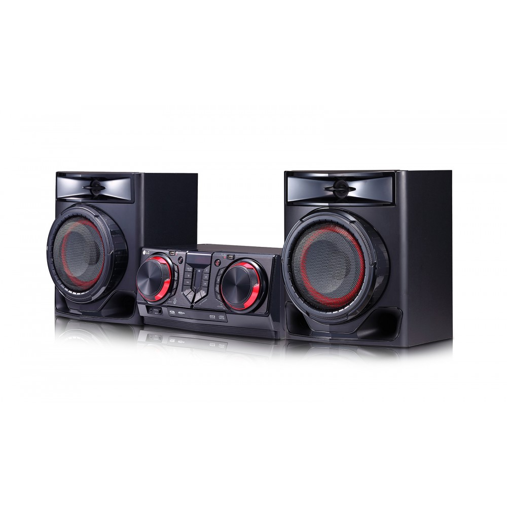 LG HOME THEATER MINI HIFI SYSTEM CJ44 480W BLUETOOTH BLACK