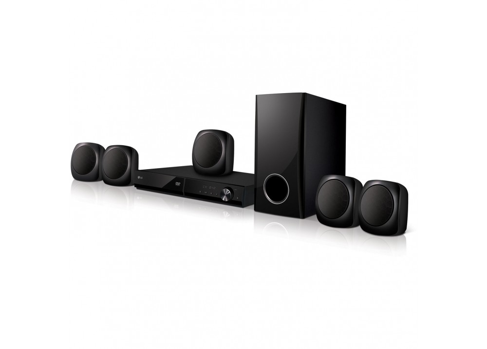 LG HOME THEATER LHD457 330W 5.1CH DVD BLUETOOTH BLACK