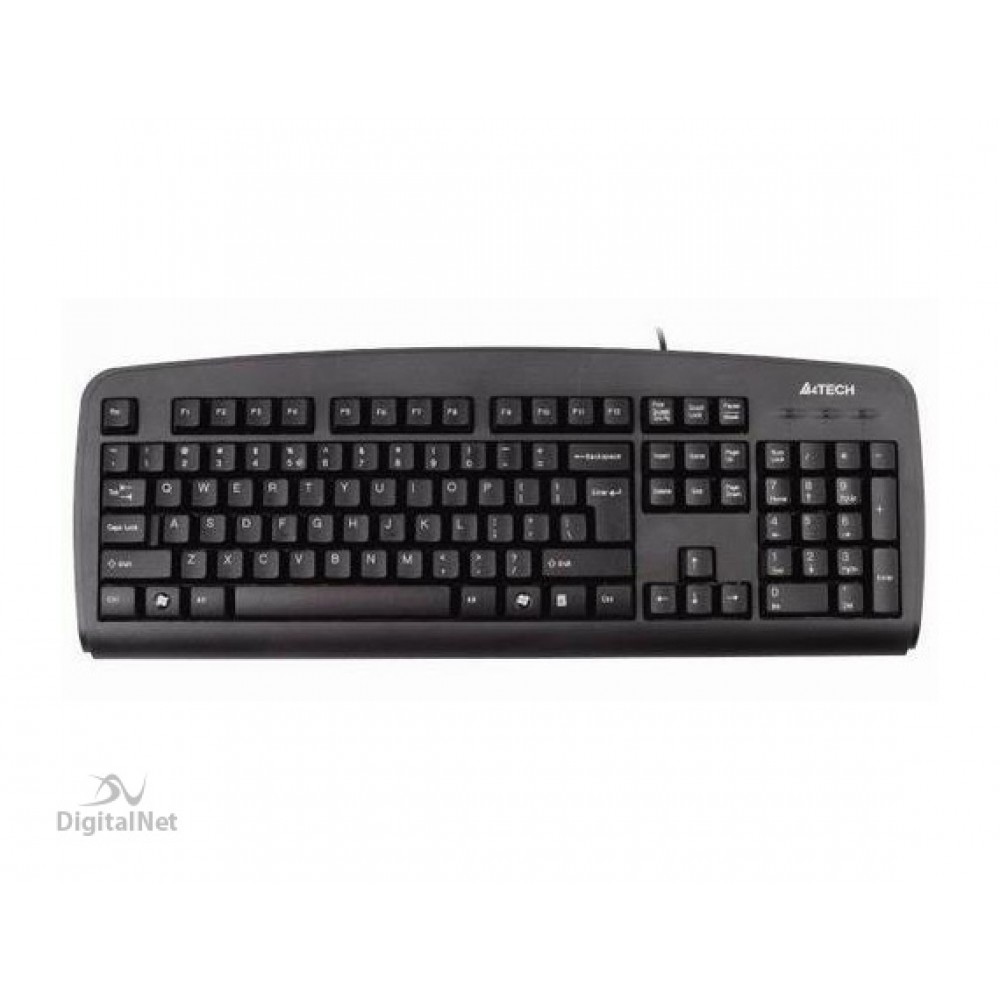 A4 TECH WIRED KEYBOARD KBS-720 PS2 BLACK