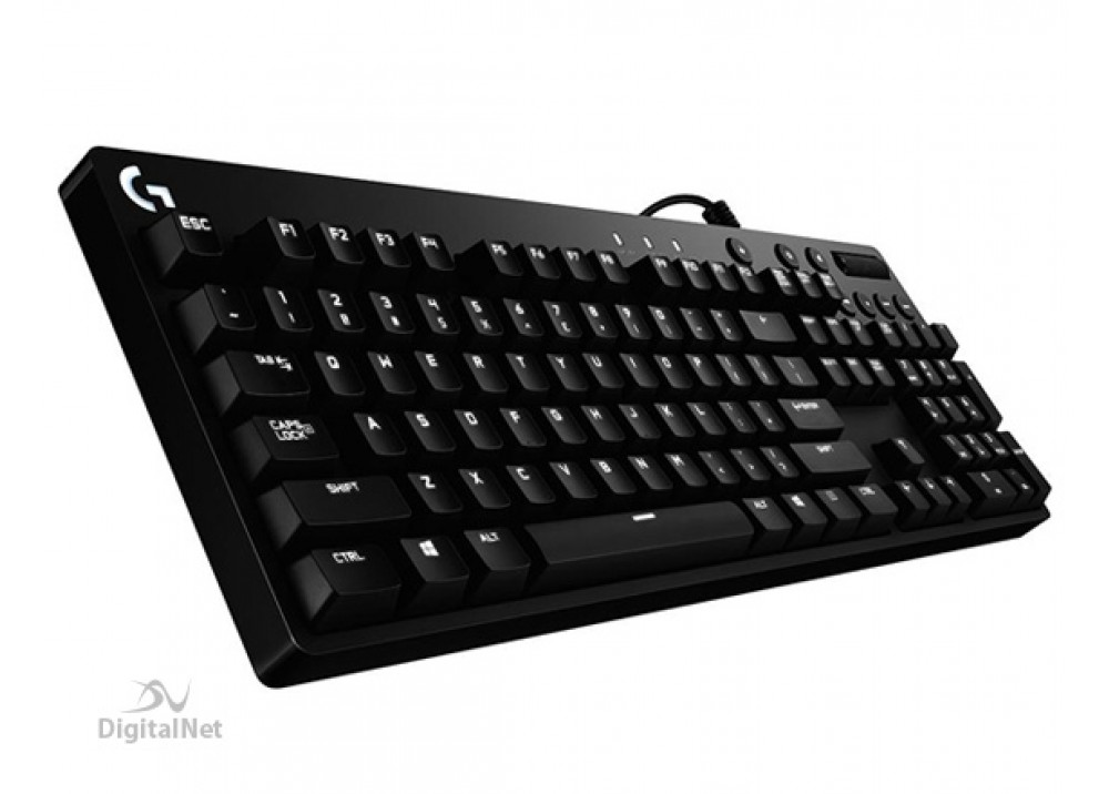 LOGITECH WIRED KEYBOARD GAMING G610 ORION RED BKLIT MECHANICL USB BLACK