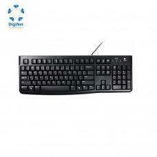 لوجيتك لوحة مفاتيح سلكية  K120 USB أسود