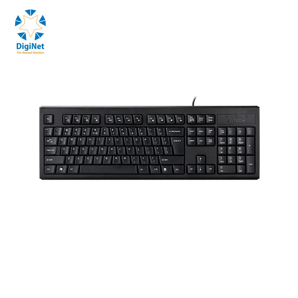 A4 TECH WIRED KEYBOARD KRS-83 USB BLACK