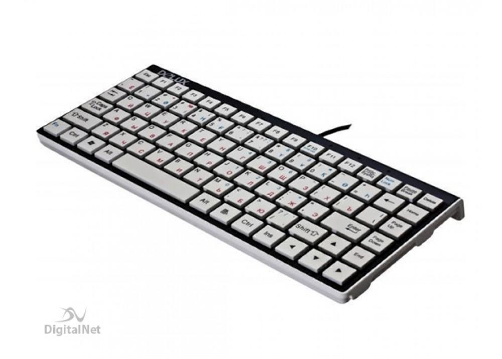 DELUX WIRED KEYBOARD K1102 USB BLACK