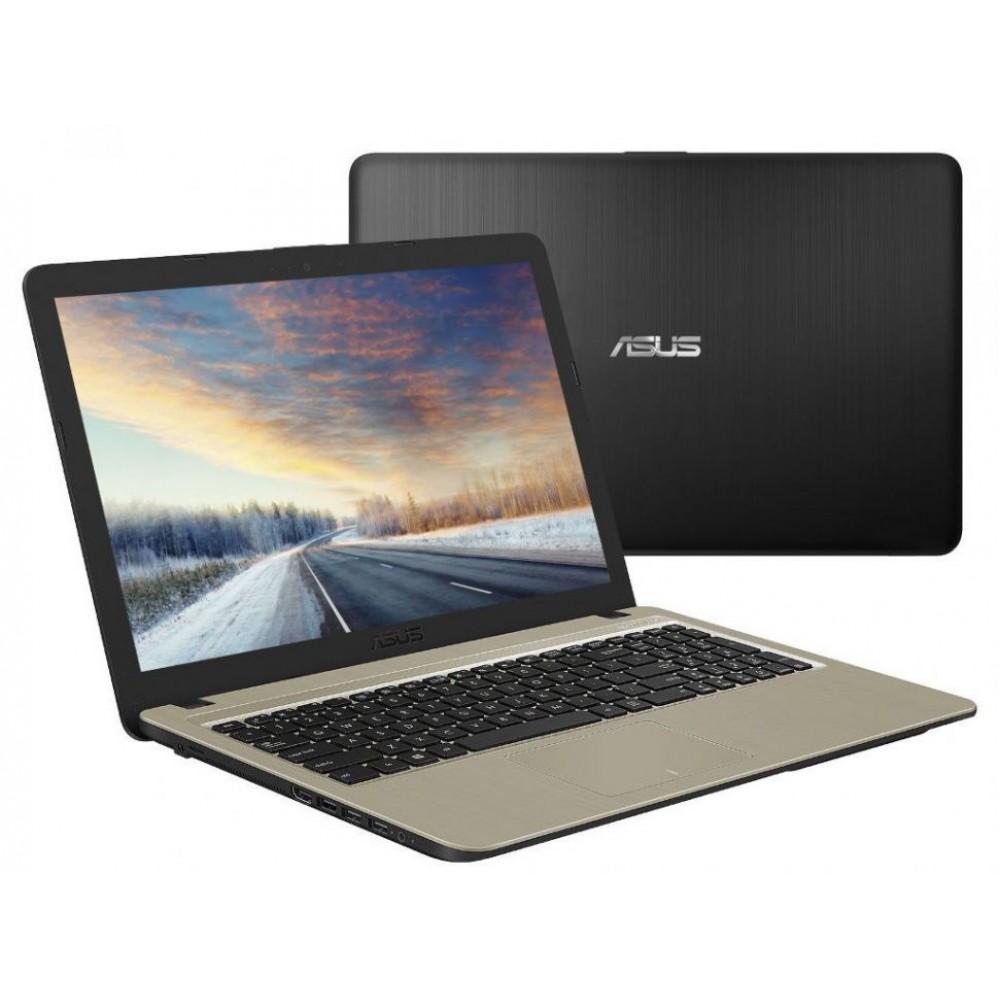 """ASUS LAPTOP X540UB I3-7020 4GB 1TB 2D 15.6"""" HD BLACK"""
