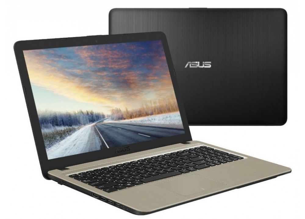 "ASUS LAPTOP X540UB I3-7020 4GB 1TB 2D 15.6"" HD BLACK"
