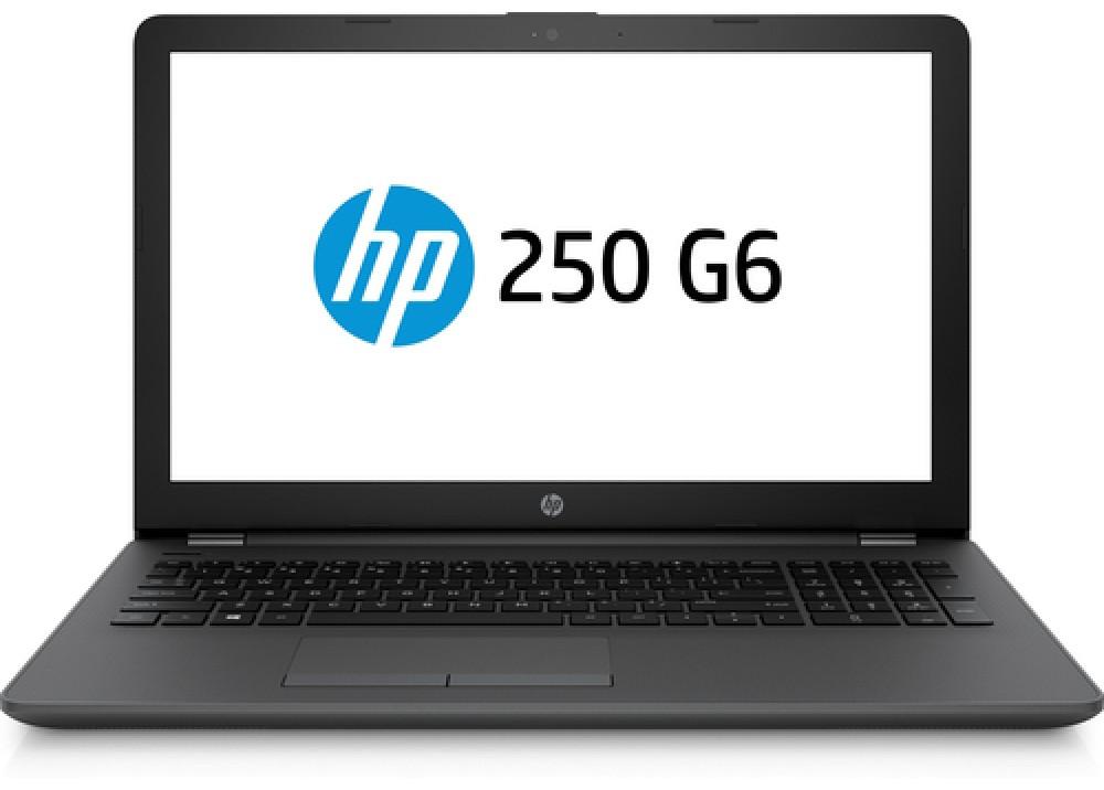 """HP LAPTOP 250 G6 I3 6006U 4GB 500GB 2D VGA 15.6"""" GRAY"""