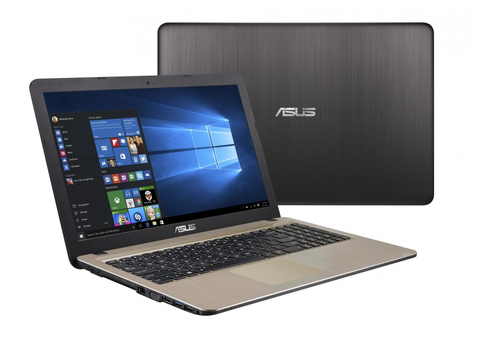 "ASUS LAPTOP VIVOBOOK X540UA I3-7020 4GB 1TB 15.6"" HD BLACK"