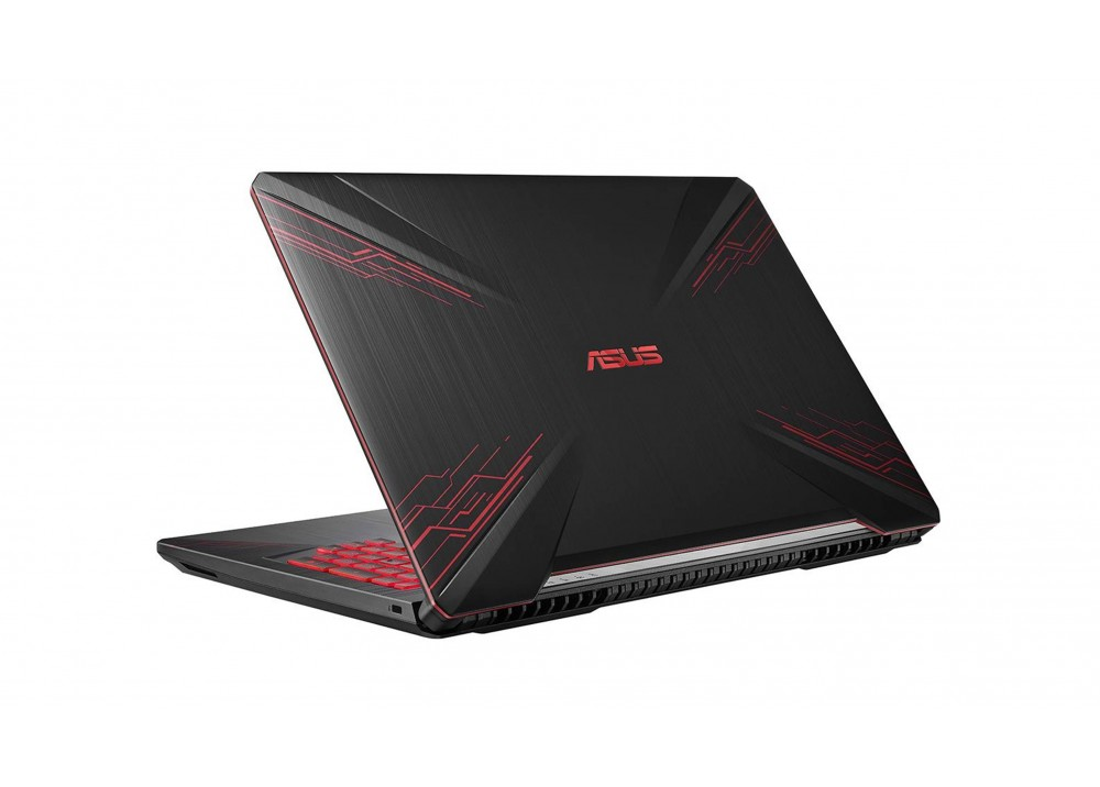 "ASUS LAPTOP FX504GM I7-8750HQ 16GB 1TB + 256GB SSD 6D VGA 15.6"" BLACK"