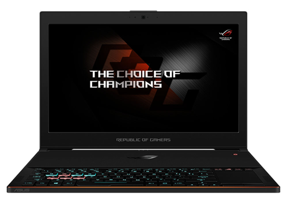 "ASUS ROG  GX501V I7-7700HQ 24GB 1T SSD 8D GB 15.6"" WITH MOU BLACK"