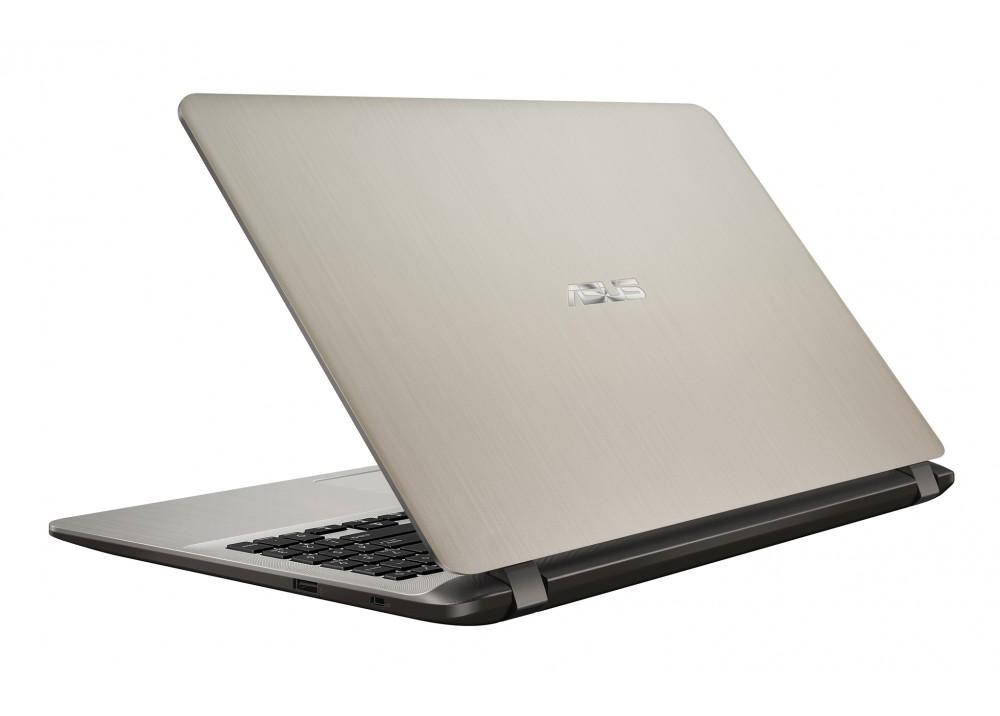 "ASUS VIVOBOOK X507UB I7-7500U 8GB 1TB 2D VGA 15.6"" GOLD WITH BAG"