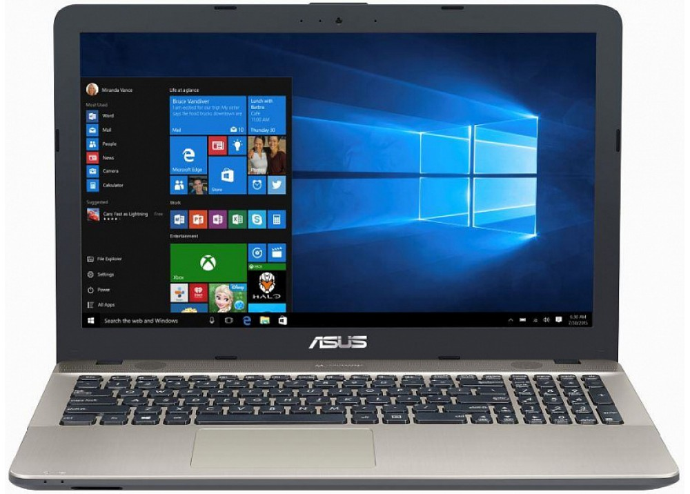 "ASUS VIVOBOOK F541UA I3-6100U 4GB 1TB 15.6"" SILVER WITH MOUSE &BAG"