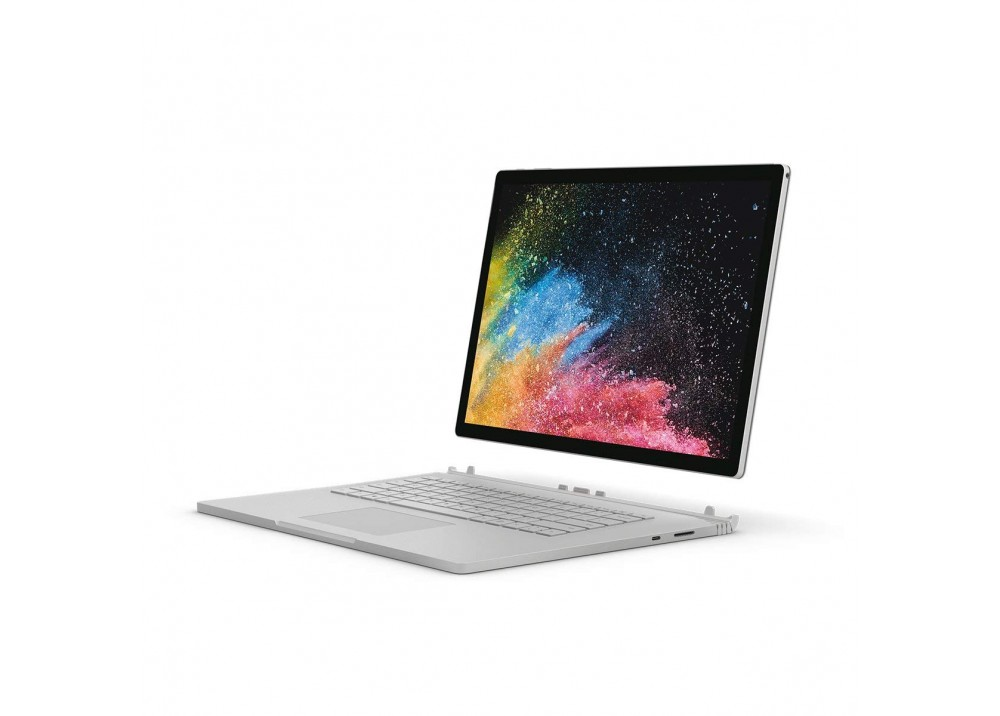"MICROSOFT LAPTOP SURFACE BOOK2 I7-8650U 16GB 256GB SSD 6D 15""T WIN10 PRO SILVER"