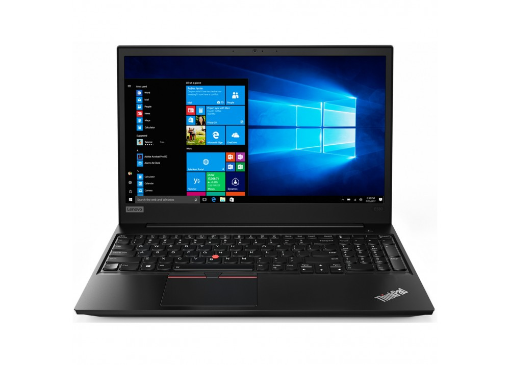 "LENOVO LAPTOP THINKPAD E580 I7-8550U 8GB 1TB 2D VGA 15.6"" HD BLACK"