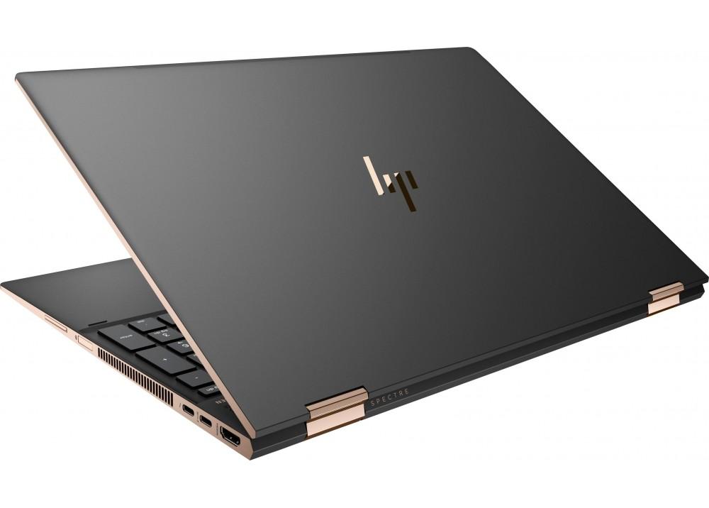 "HP LAPTOP SPECTRE X360 I7-8705G 16GB 1TB SSD 4D 15.6"" 4K TOUCH WIN10 BLACK"