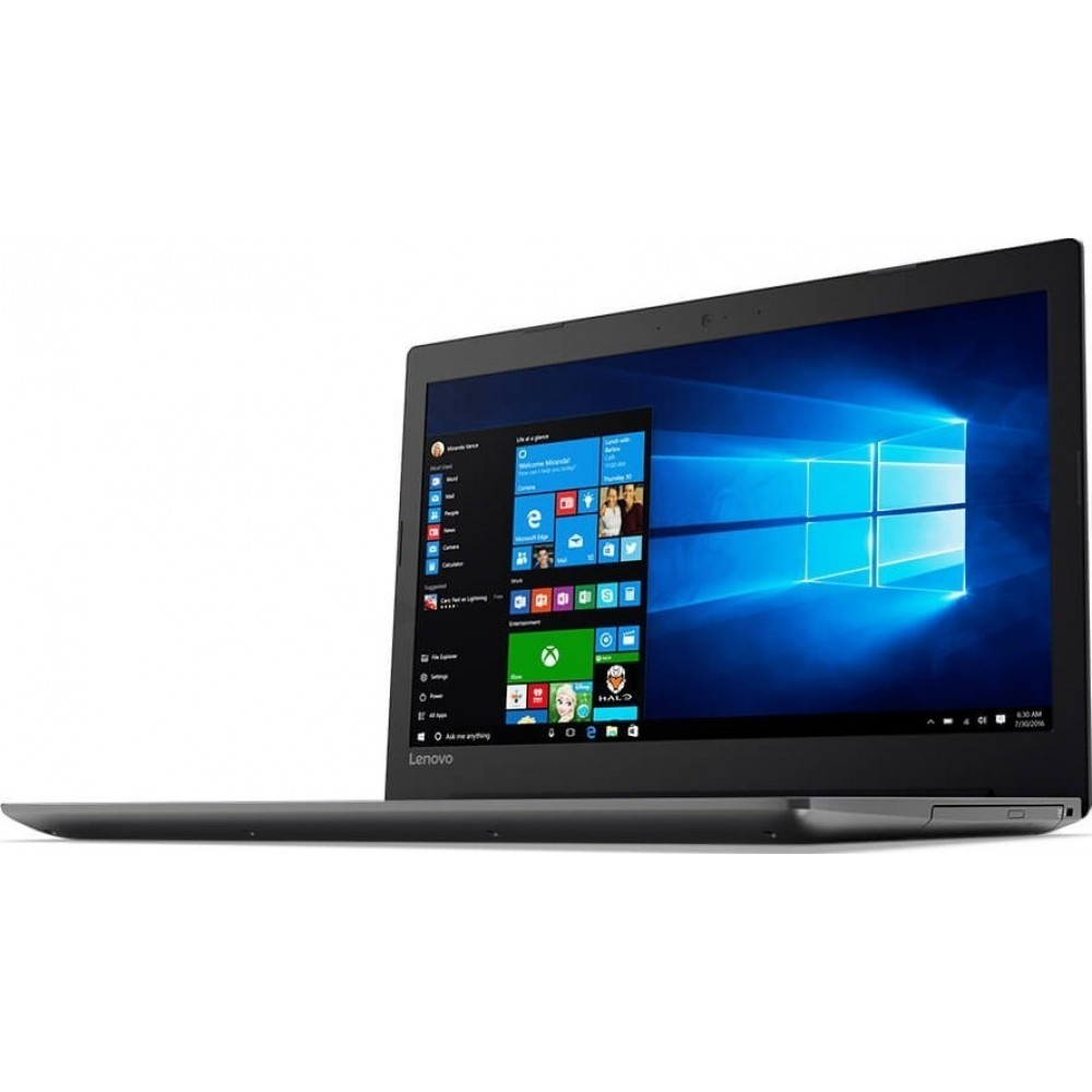 "LENOVO LAPTOP IDEA PAD330 I3-7020U 4GB 500GB 15.6"" HD BLACK"