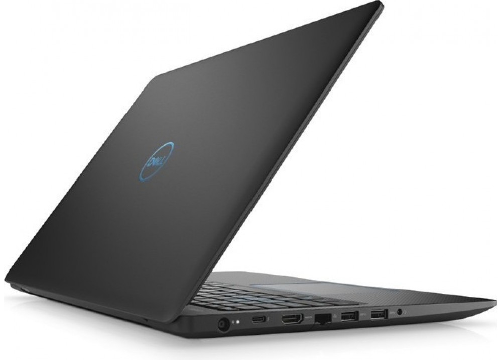 "DELL LAPTOP G3 I7-8750H 8GB 1TB + 128GB SSD 4D VGA 15.6"" FHD BLACK"