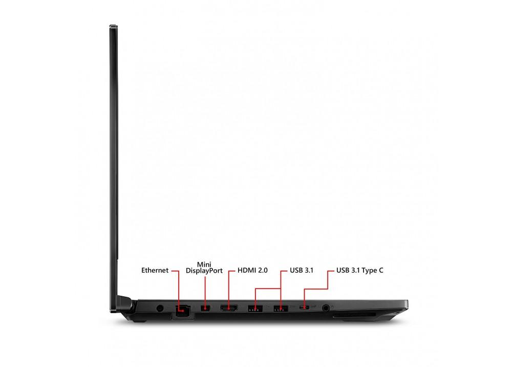 "ASUS GAMING LAPTOP ROG STRIX SCAR I7-8750H 16GB 512GB SSD 8D VGA 15.6"" WIN10 BLACK"