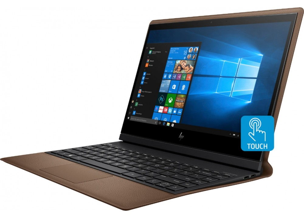 """HP LAPTOP SPECTRE X360 FOLIO I7-8500Y 8GB 512GB SSD 13.3"""" FHD TOUCH WIN 10 BROWN & SILVER WITH PEN"""