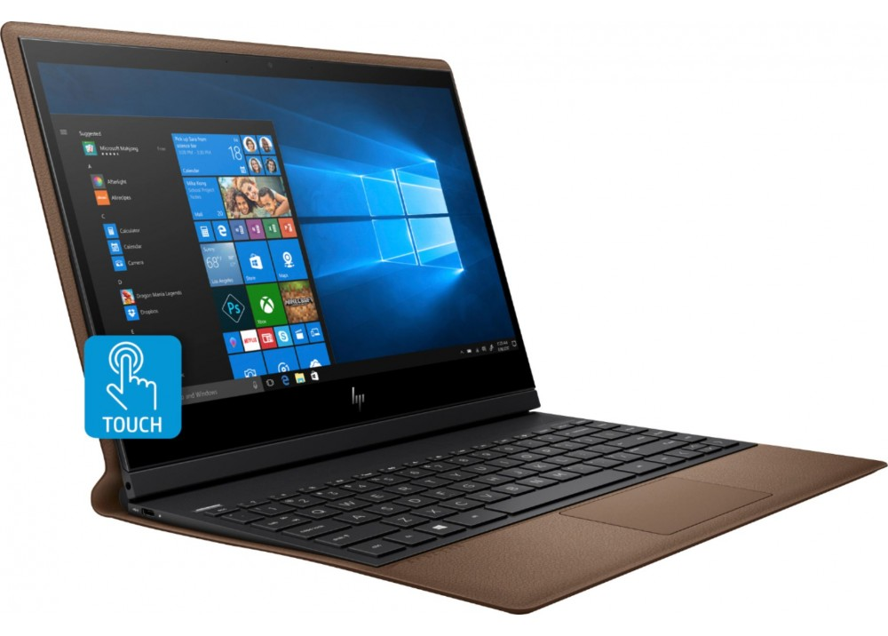 "HP LAPTOP SPECTRE X360 FOLIO I7-8500Y 8GB 512GB SSD 13.3"" FHD TOUCH WIN 10 BROWN & SILVER WITH PEN"