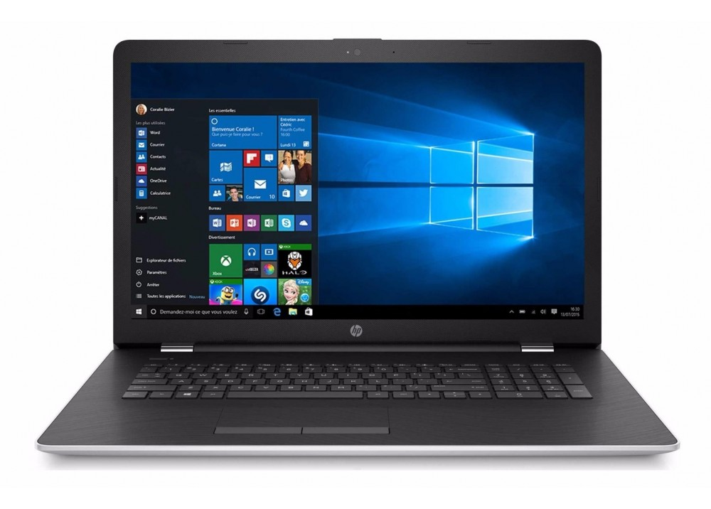 HP NOTEBOOK 15 BS085 I7-7500U 8GB1TB 2D VGA SILVER