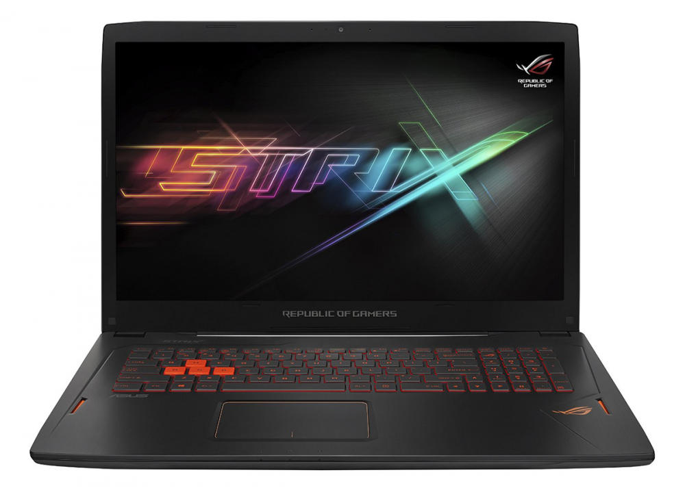 ASUS GAMING LAPTOP ROG STRIX GL702VM I7 7700HQ 16GB 256SSD +1TB 6GB VGA 17.3'' FULL HD BLACK