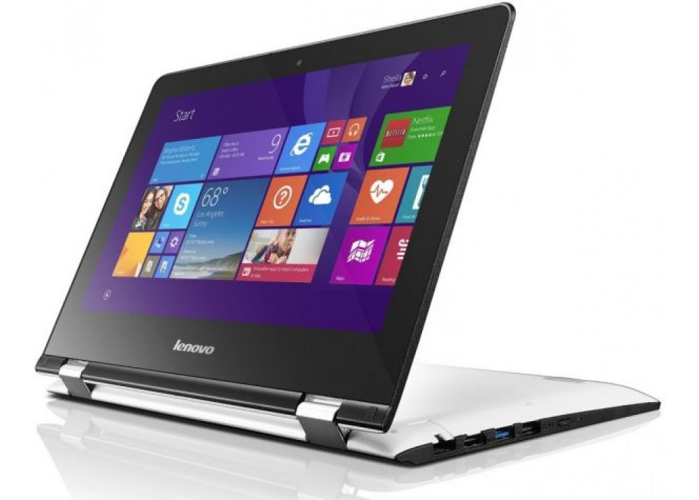 "LENOVO YOGA 300 N3060 4GB 500GB 11.6"" TOUCH WIN10 WHITE"