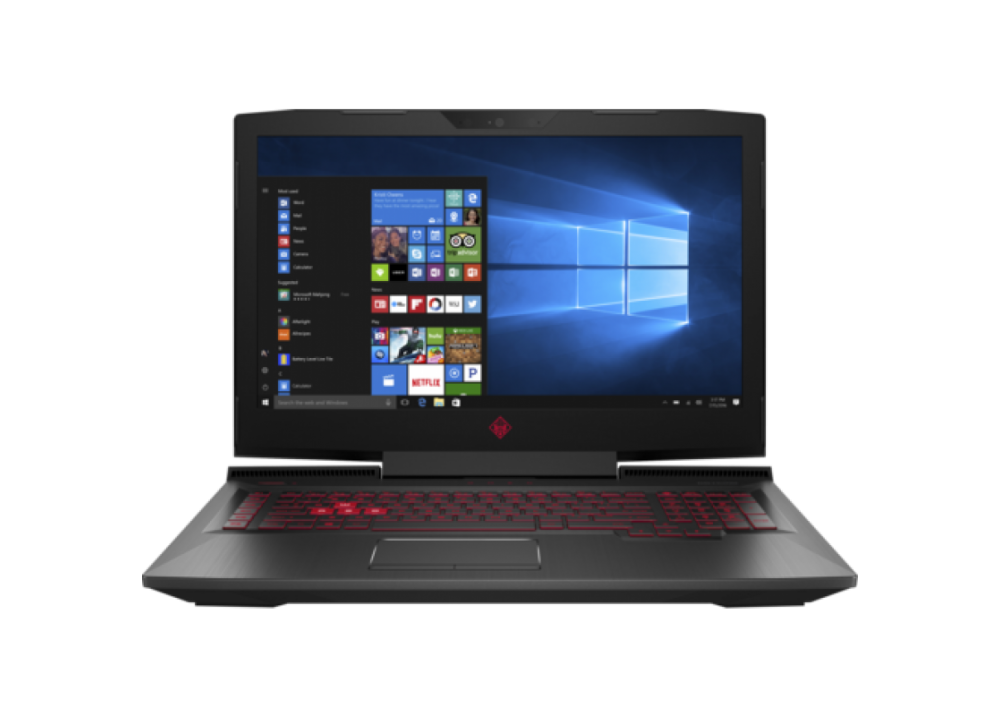 "HP OMEN 15-CE005NE I7-7700HQ 16GB 1TB + 128GB SSD 6D VGA 15.6"" WIN10 BLACK"