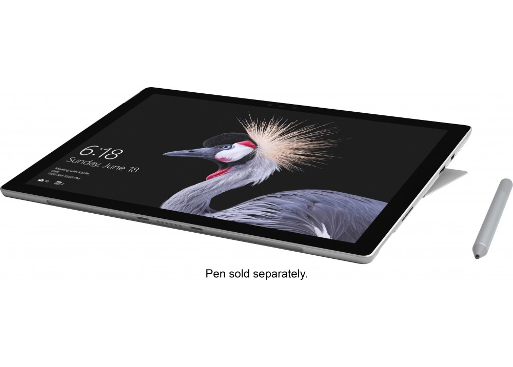 "MICROSOFT SURFACE PRO ADVANED I5-7300U 8GB 256GB SSD 12.3""T WIN10 SILVER"