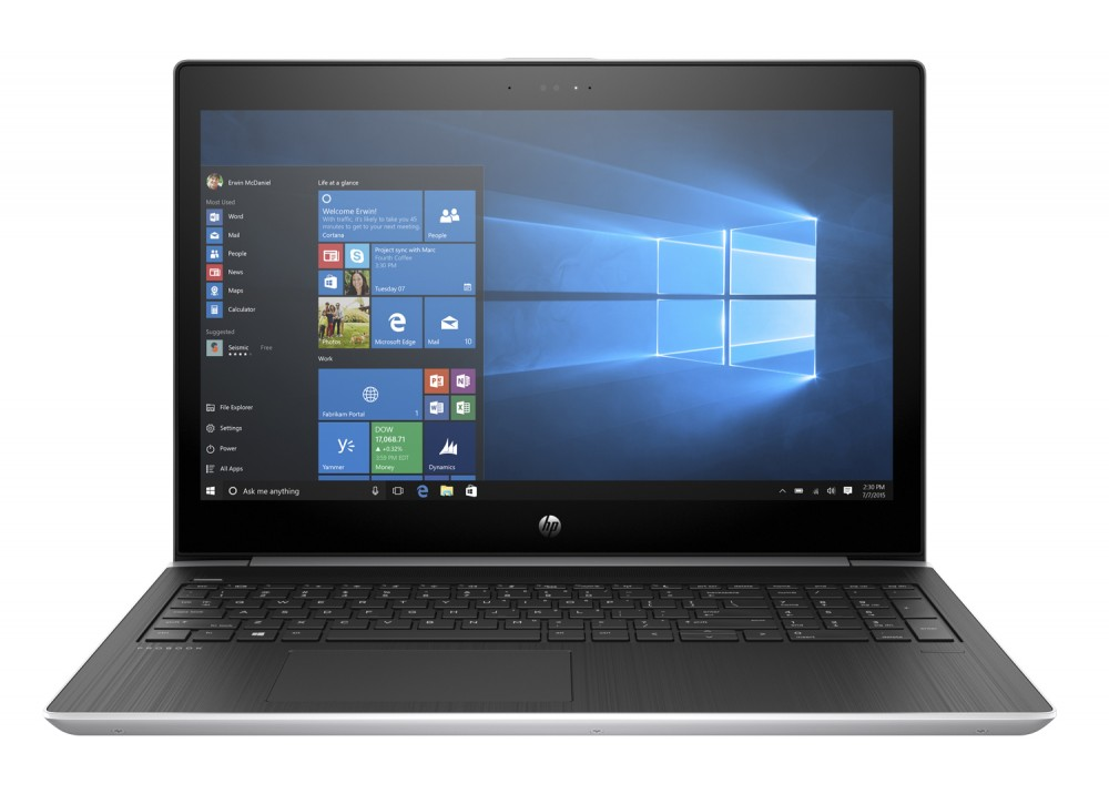 "HP PROBOOK 450 G5 I5-8250U 8GB 1TB 2D 15.6"" SILVER WITH BAG"