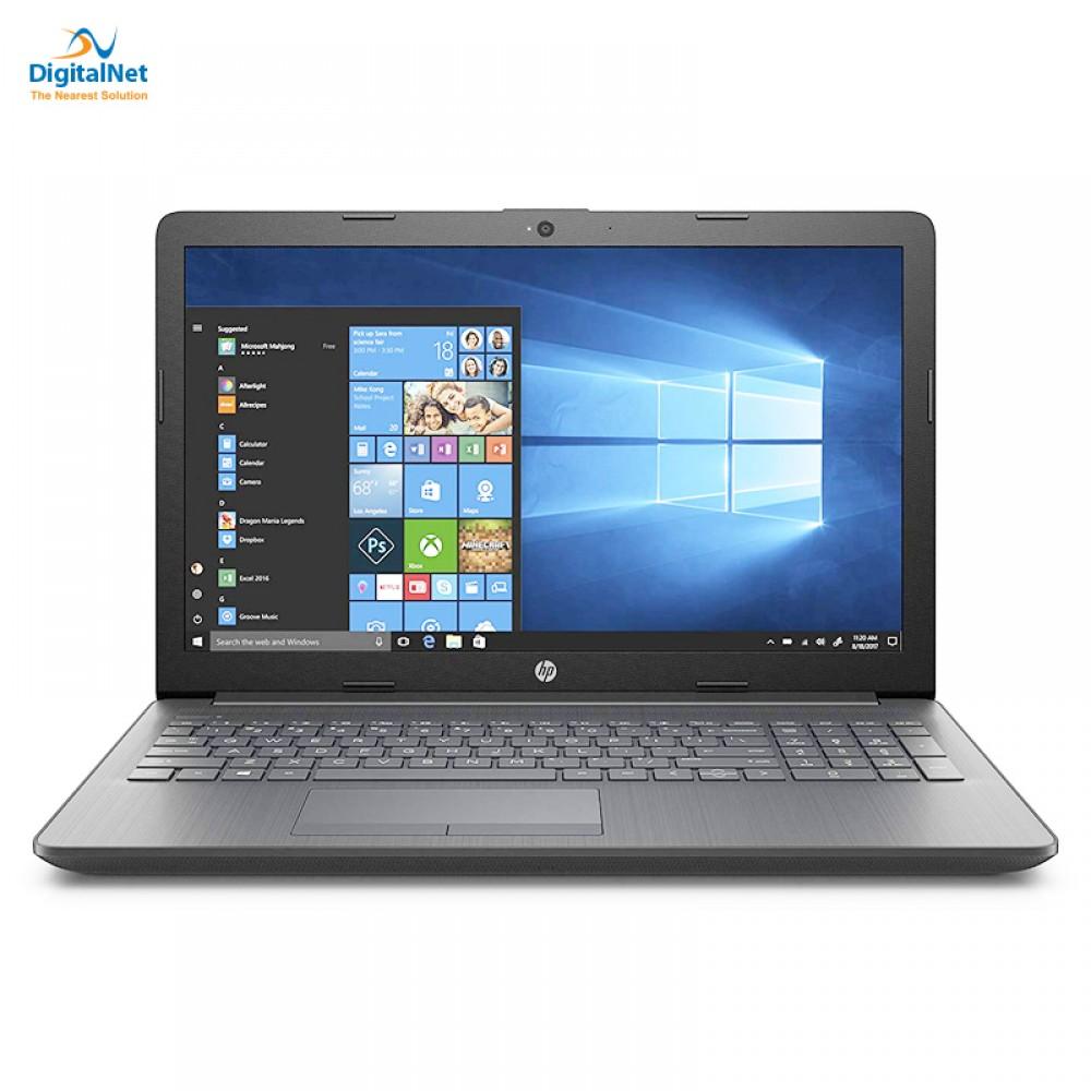 """HP LAPTOP 15-DA0064NIA i3-7020U 4 GB 1 TB 2G MX110 15.6"""" HD GRAY"""