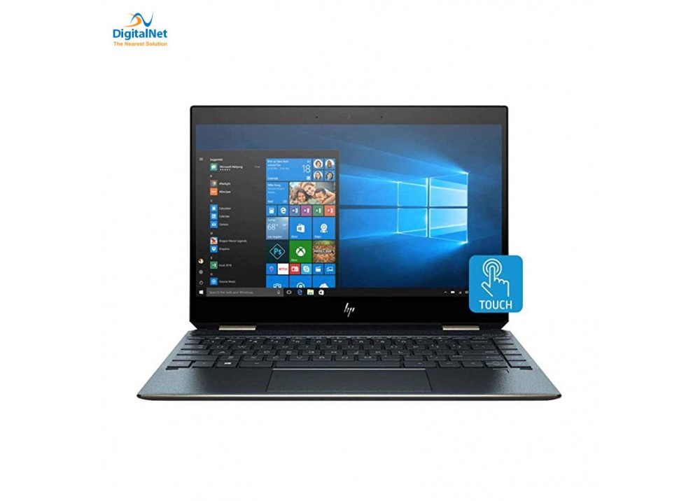 "HP LAPTOP SPECTRE  13T X360  i7-8565U 16GB 2TB SSD 13.3"" TOUCH WIN 10 POSEIDON BLUE"
