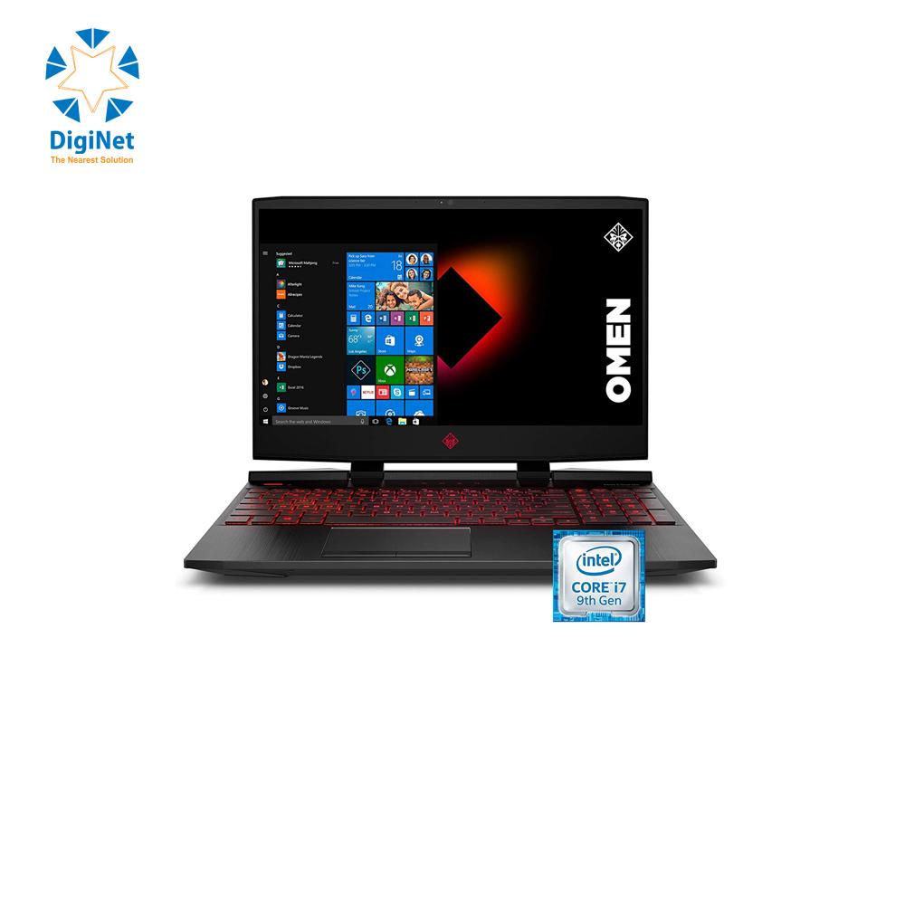 """HP LAPTOP OMEN 17 i7-10750H 16GB 1TB 512SSD 8GB RTX2070 17.3"""" 4K Black"""