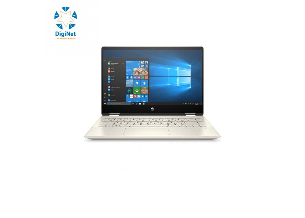 """HP LAPTOP PAVILION X360 i7 10510U 8GB 256GB SSD 2GBMX250 14"""" W10 GOLD"""