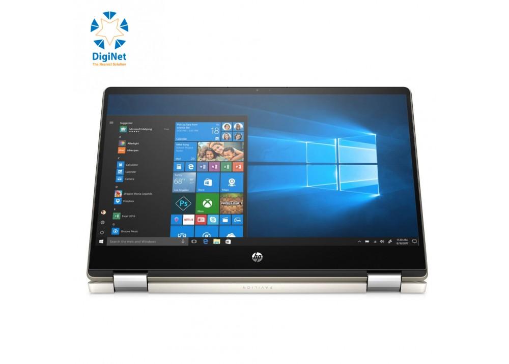 HP LAPTOP PAVILION X360 i7-10210U 8GB 256SSD 2GB-MX250 14 W10 BLUE