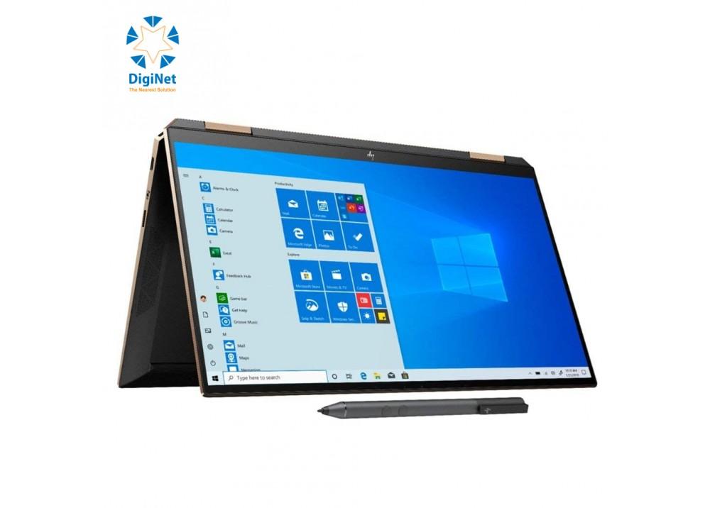 "HP LAPTOP SPECTR 13T X360 i7-1065G7 16GB 2TSSD 13.3""T W10 BLACK AND GOLD"