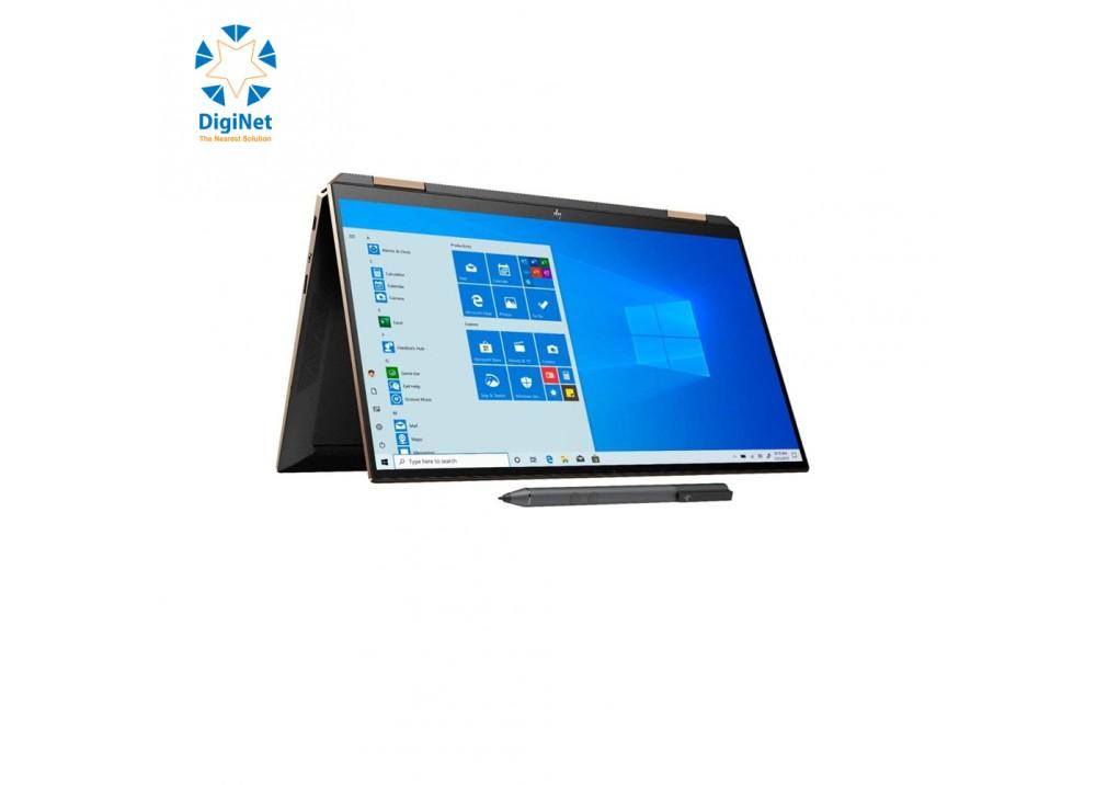 HP LAPTOP SPECTER 15T X360 i7-10750H 16GB 512SSD 4-1650 15.6T W10 BLACK AND GOLD