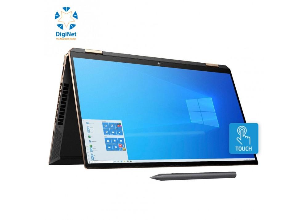 HP LAPTOP SPECTER 15T X360 i7-10750H 16GB 1TB SSD 4-1650 15.6T W10 BLACK AND GOLD