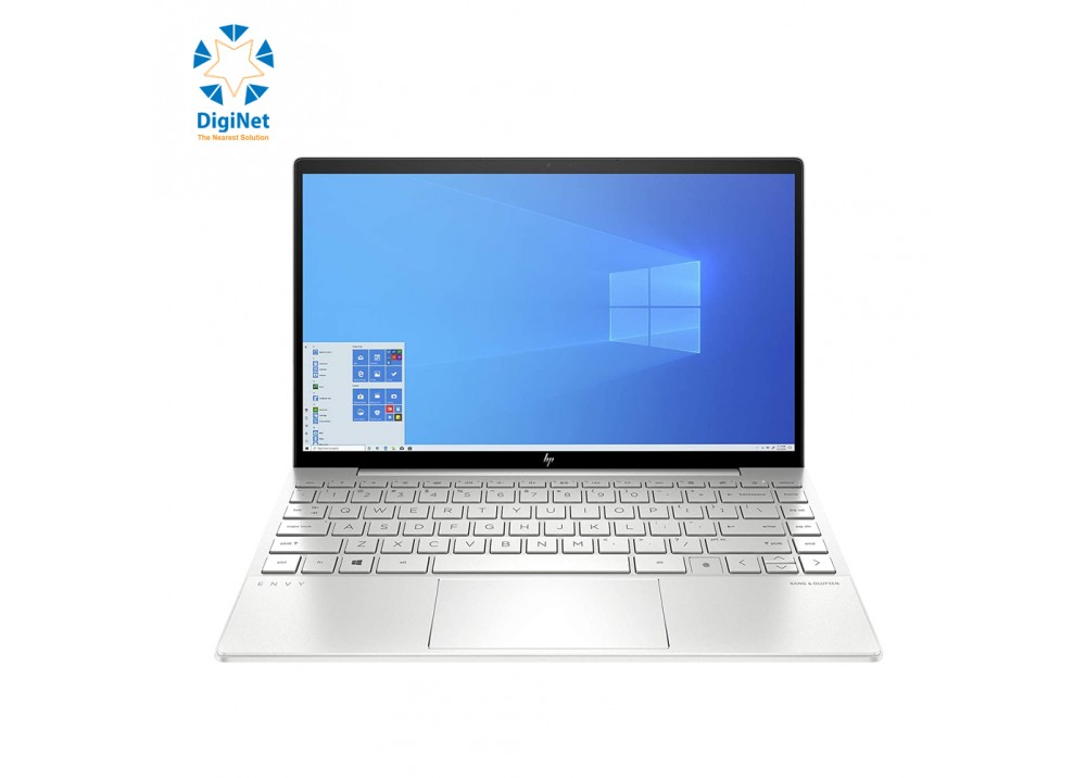 "HP LAPTOP ENVY 13T i7-10510U 16GB 512SSD 2G-MX250 13.3""T W10 SILVER"