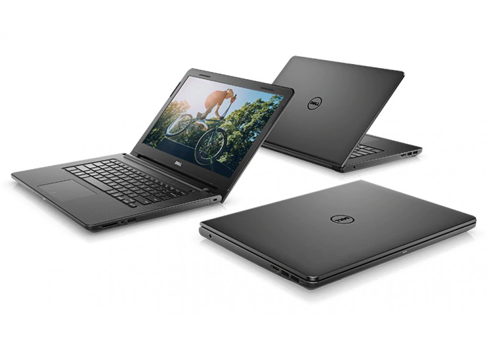 "DELL LAPTOP INS-3476 I5-7200U 4GB 1TB 2D 14"" HD BLACK"