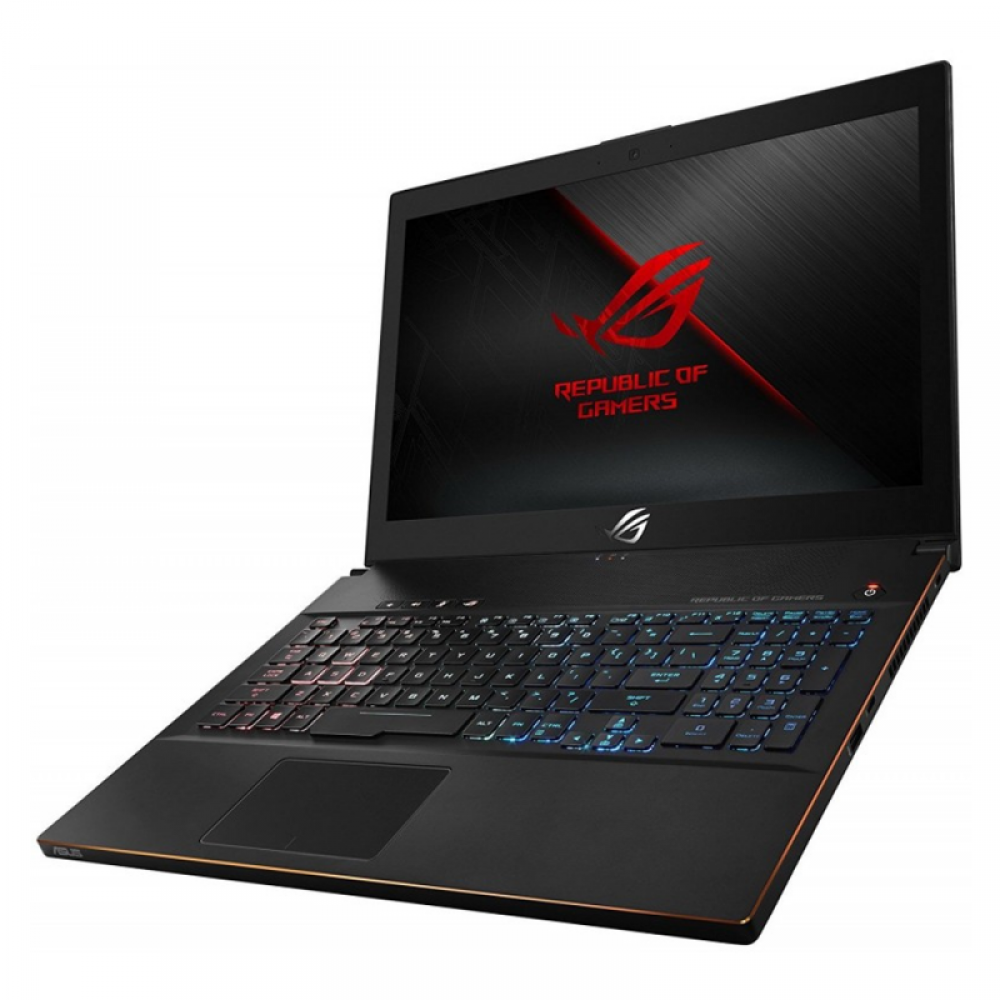 "ASUS ROG ZEPHYRUS GM501G I7-8750H 16GB 1TB + 256GB SSD 8D VGA 15.6"" WIN10 BLACK WITH MOUSE & BAG & HEADPHONE"
