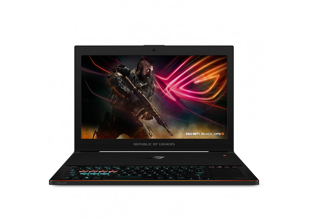 "ASUS ROG ZEPHYRUS GX501GI I7-8750H 24GB 512GB SSD 8D VGA 15.6"" WIN10 BLACK WITH MOUSE & BAG & HEADPHONE"