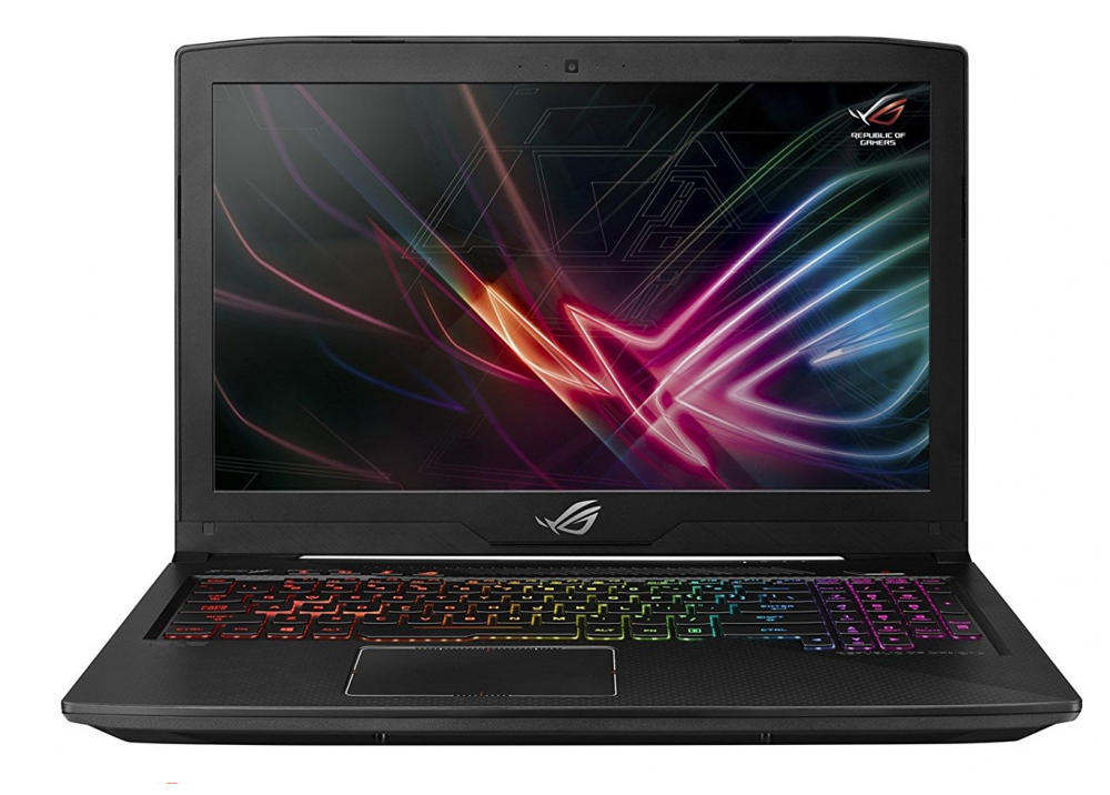 ASUS ROG STRIX GL503GE SCAR I7-8750H 16GB 1TB + 256GB SSD 4D VGA BLACK WITH HEADPHONE & MOUSE & BAG