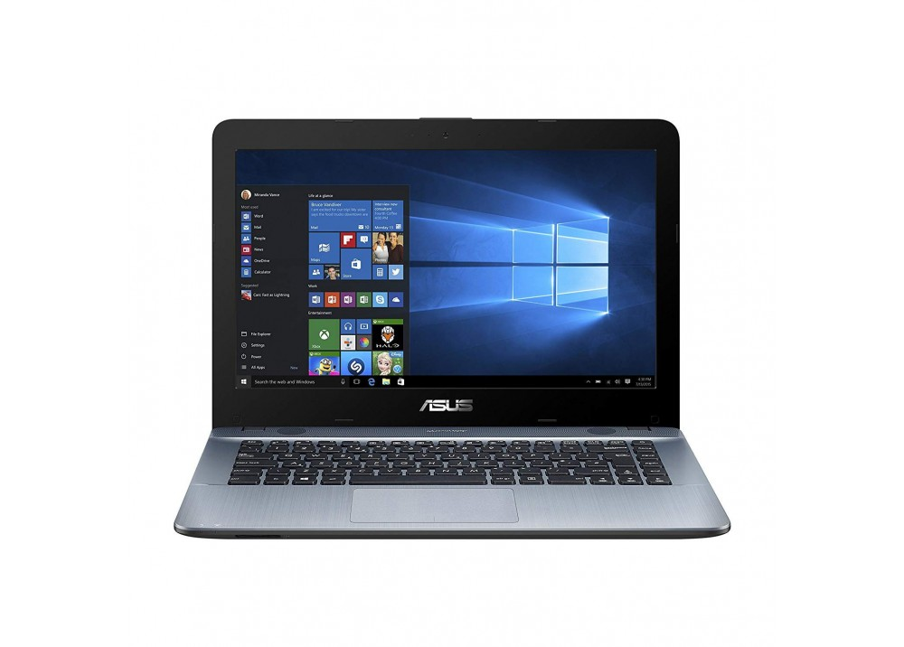 "ASUS VIVOBOOK X441NA PENTIUM-N4200 4GB 500GB 14"" BLUE WITH BAG"